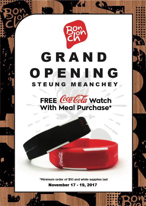 grand opening BC Steung Meanchey