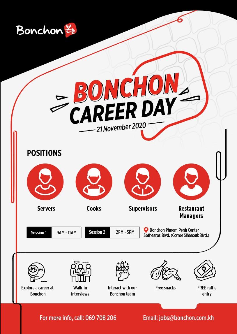 Bonchon Career Day
